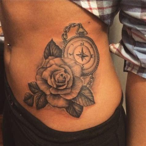compass tattoo hip tattoo ritual farmingdale ny tattoos tattoo rose