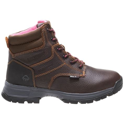 work world boots wolverine womens piper waterproof 6 quot work boot work world