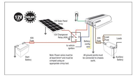 dual battery charging wiring diagram get free image