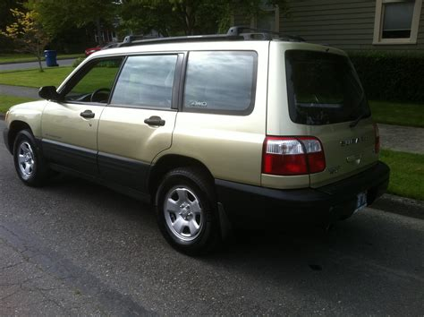 subaru gold 2001 subaru forester for sale awd auto sales