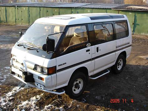 mitsubishi delica for sale 1990 mitsubishi delica pictures 2500cc diesel