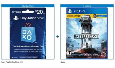 Purchase Ps4 Gift Card - buy a playstation 4 game get a 20 playstation gift card