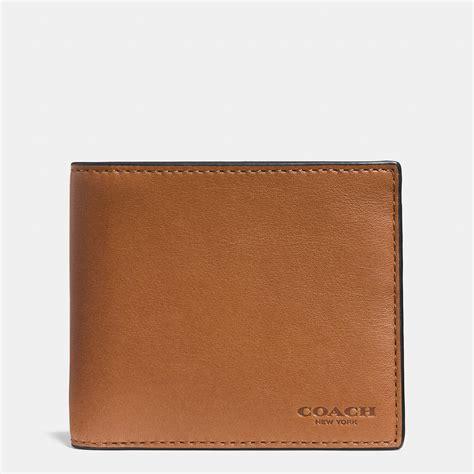 Coach Wallet coach billfold wallet in sport calf leather in