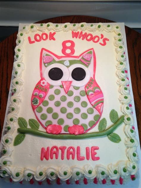Owl Icing Decorations by Best 25 Owl Cakes Ideas On Owl Birthday Cakes