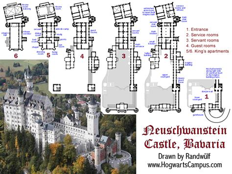 disney castle floor plan neuschwanstein castle floor plan