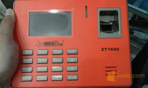 Mesin Absensi Elektronik mesin absensi fingerplus zt 1600 terlaris dengan kwalitas no 1 yogyakarta jualo