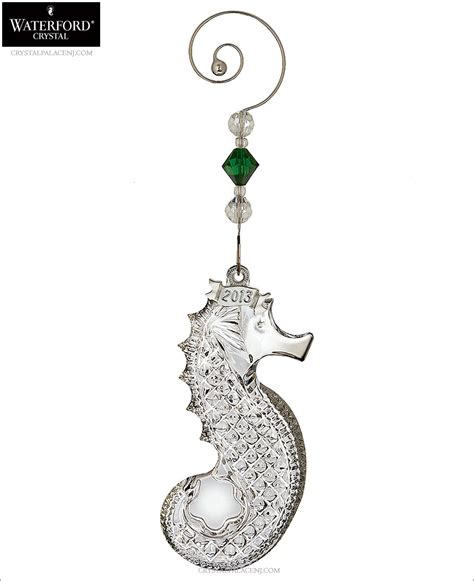 waterford 2013 seahorse christmas ornament
