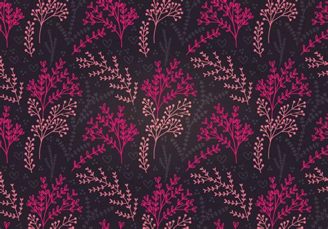 botanical pattern ai moody botanical vector seamless pattern download free