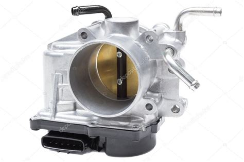 electronic throttle control 2011 mitsubishi lancer electronic throttle control throttle valve with electronic control air supply to the engine on a white stock photo