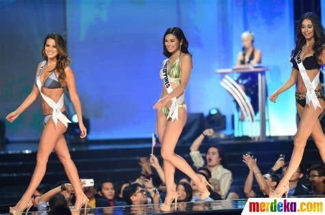 Baju Renang Arena Di Jakarta foto pesona para kontestan miss universe berbalut baju