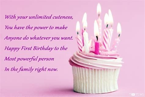 Happy Birthday Wishes To The One You 1st Birthday Wishes Messages Quotes Images For Facebook