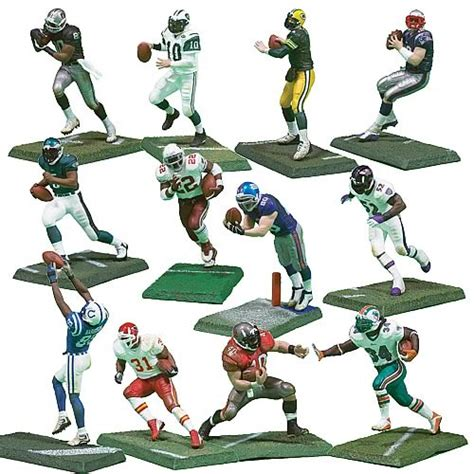 3 inch figures nfl 3 inch series 1 figures mcfarlane toys sports
