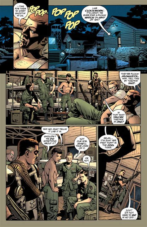 Operation Montauk an exclusive preview of before watchmen the comedian 2
