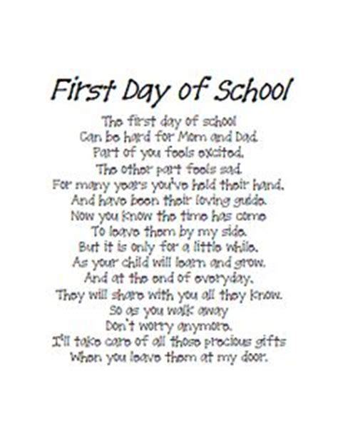 Parent Letter Beginning Of School Year End Of The Year Keepsakes Rhymes Day Of School Teaching And The