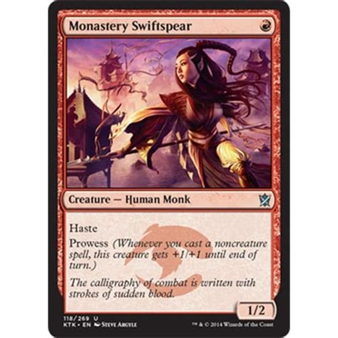 magic card monastery swiftspear magic the gathering from magic