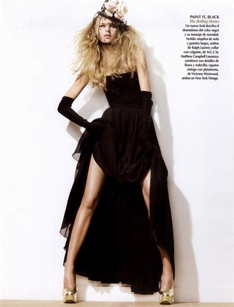 Style Hana Soukupova by Rock Style Hana Soukupova By Silver For Vogue Mexico