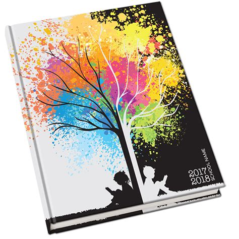 book themes about knowledge branching out yearbook cover studying under the tree of