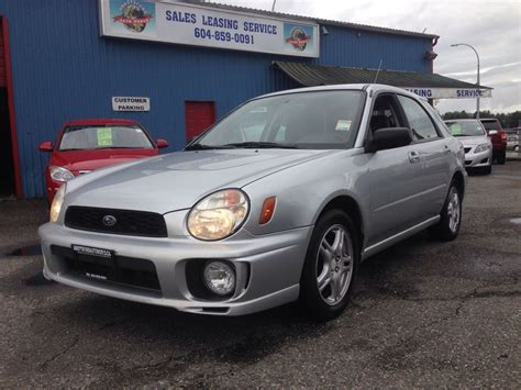 subaru station wagon 2003 subaru impreza station wagon ii pictures