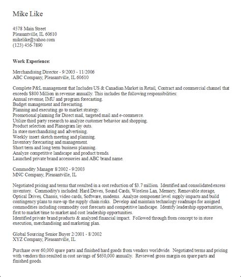 Career Builder Resume Template by Find On Careerbuilder