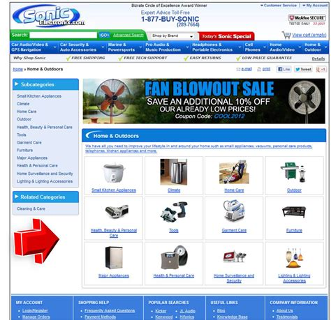 specialty outdoor products coupon code sonic electronix home outdoor coupon code