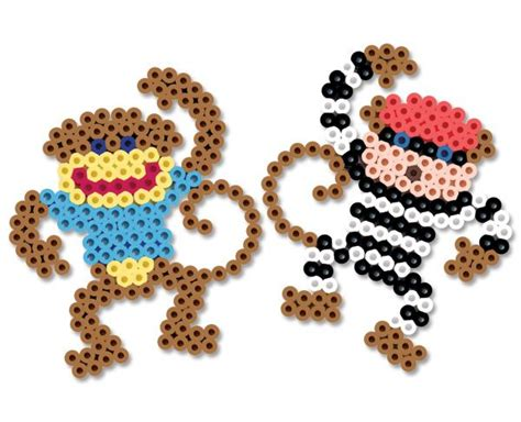 monkey pony bead pattern 517 best images about perler bead patterns on