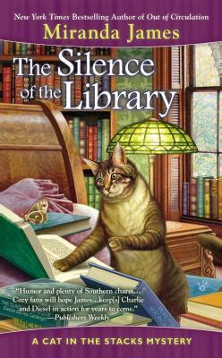 a devious a and s mystery books the silence of the library cat in the stacks mystery