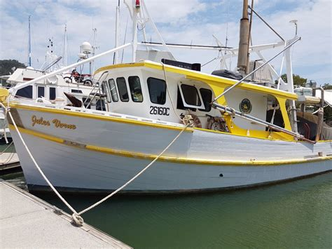 fishing boats for sale cairns millkraft motor cruiser ex prawn trawler power boats