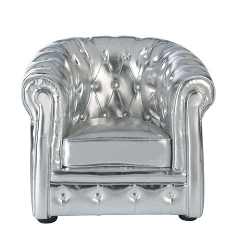 silver armchair silver children s armchair chesterfield chesterfield