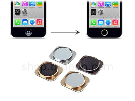 iphone 5 5c replacement home button faux iphone 5s