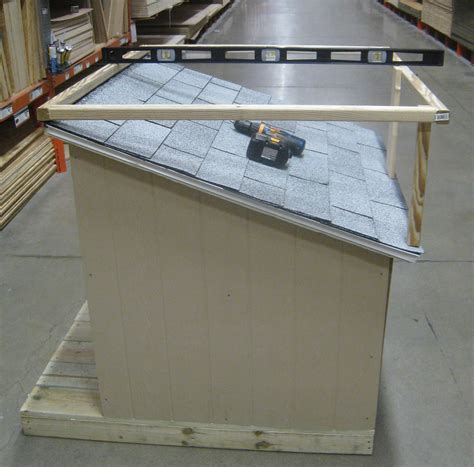 dog house with deck on top dog house with roof top deck the home depot community
