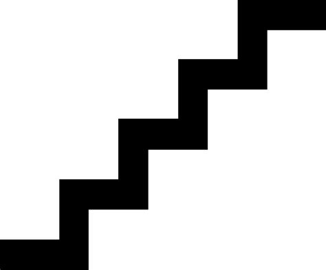 Step Outline by Clip Stairsteps Clipart Clipart Suggest