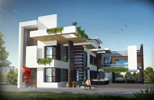 Interior Decoration Hyderabad Bungalow Elevation Design Luxurious 3d Modern Bungalow