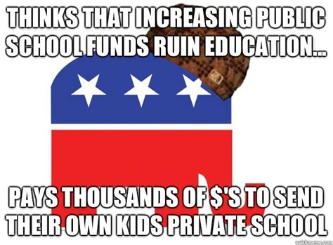 Public School Meme - private vs public school statistics memes