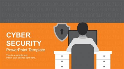 Awesome Powerpoint Backgrounds Templates For Powerpoint Cyber Security Presentation Free