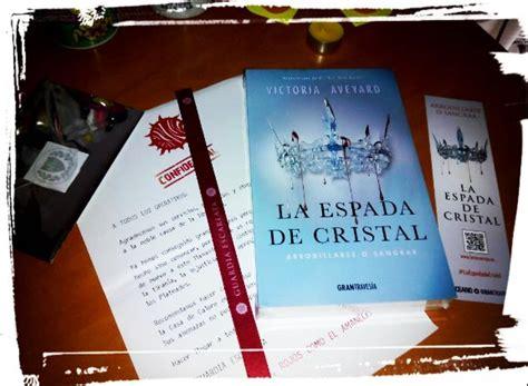libro la espada de cristal libros con alma novela juvenil rese 241 as la espada de cristal victoria aveyard