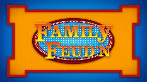 8 Best Images Of Family Feud Name Tag Template Family Feud Game Questions Printable Family Family Feud Template