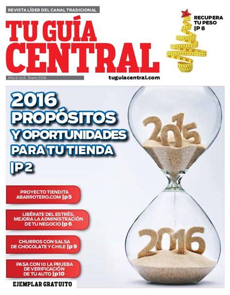 publicidad revista certificaci 243 n revista tu gu 237 a central edici 243 n 81 enero de 2016