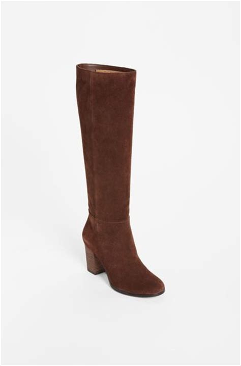 cole haan cassidy boot in brown chestnut suede lyst