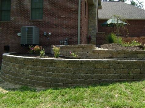 retaining wall side of house 98 best images about retaining walls on pinterest landscaping blocks wall beds and