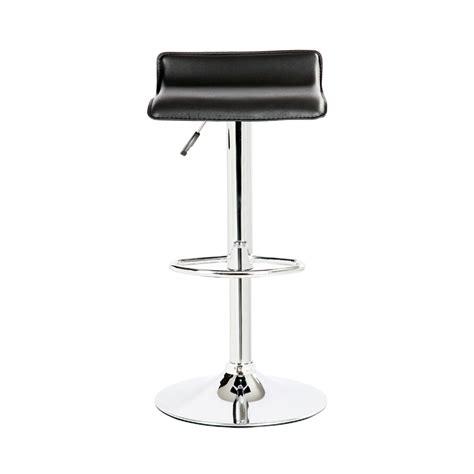modern leather bar stools 2 modern bar stools pu leather adjustable swivel hydraulic