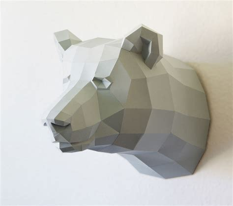 How To Make A 3d Out Of Paper - geometric paper animal sculptures by wolfram kffmeyer