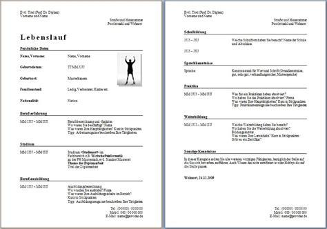 Lebenslauf Muster Oesterreich Lebenslauf Vorlage Kostenlos Dokument Blogs
