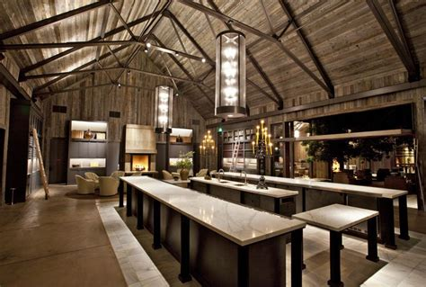 vire lounge tasting room contemporary decor in a country setting a dramatic calacatta marble slab bar for tasting cozy