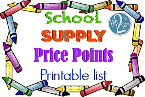 back to school shopping guide and price points for 2017 the back to school deals are here hot hip2save