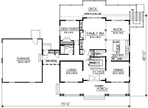 10 Foot Kitchen Island bungalow style house plans 2968 square foot home 2