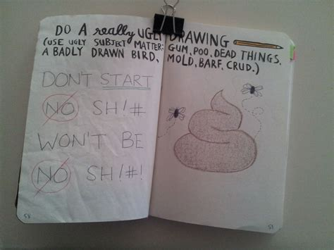 Drawing Journal Ideas by Wreck This Journal Do A Really Drawing Wreck This