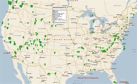 national parks usa map flickr and activity around the world dataisbeautiful
