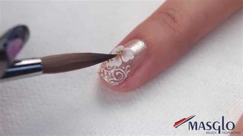 imagenes uñas para boda paso a paso decoraci 243 n para novias youtube