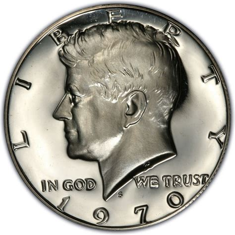 1970 kennedy half dollar values and prices past sales