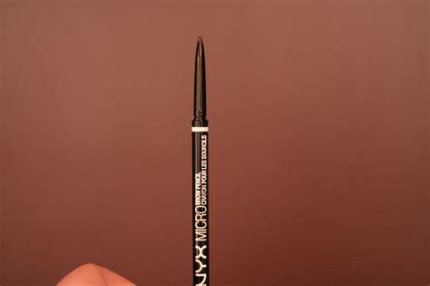 Nyx Micro Bro Pencil review nyx micro brow pencil for precision eyebrow shaping